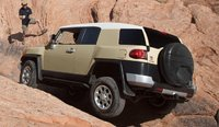 2012 Toyota FJ Cruiser, Back quarter view. , exterior, manufacturer