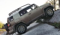 2012 Toyota FJ Cruiser, Side View. , exterior, manufacturer