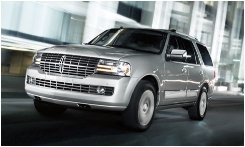 2012 Lincoln Navigator RWD, Front quarter, exterior, manufacturer, gallery_worthy