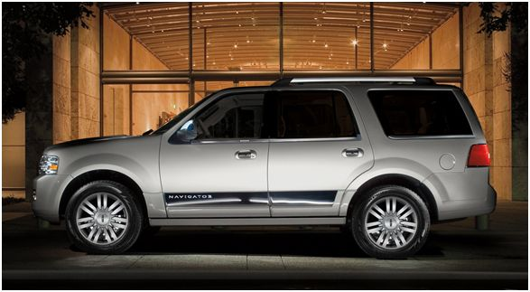 2012 Lincoln Navigator Base, Side view, manufacturer, exterior