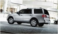 2012 Lincoln Navigator Base, Rear quarter , exterior, manufacturer