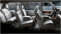 2012 Lincoln Navigator Base, Interior seating, interior, manufacturer, gallery_worthy