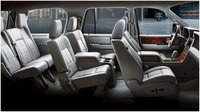 2012 Lincoln Navigator Base, Interior seating, interior, manufacturer