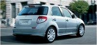 2012 Suzuki SX4 Sportback Crossover, Rear quarter, exterior, manufacturer