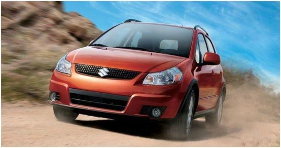 2012 Suzuki SX4 Base AWD Crossover, Front quarter, exterior, manufacturer, gallery_worthy