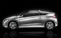 2012 Honda CR-Z Base Coupe, Side view, exterior, manufacturer