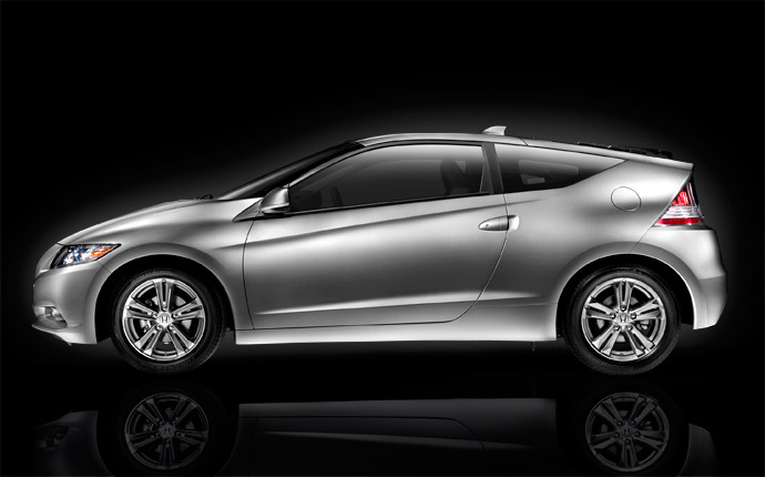 2012 Honda CR-Z Base, Side view, manufacturer, exterior