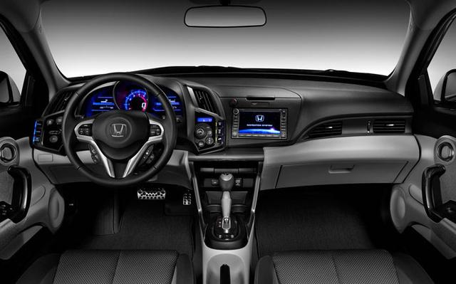 2012 Honda CR-Z Base Coupe, Interior cockpit, interior, manufacturer
