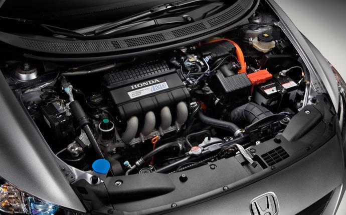 2012 Honda CR-Z Base, Engine, interior, engine, manufacturer