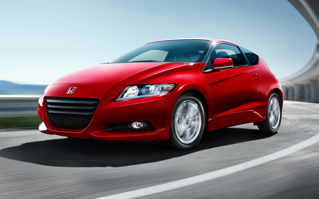 2012 Honda CR-Z Base Coupe, Front quarter, exterior, manufacturer