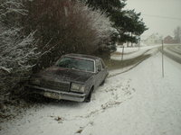 1979 Buick Regal 2-Door Coupe, First snow 2009, exterior