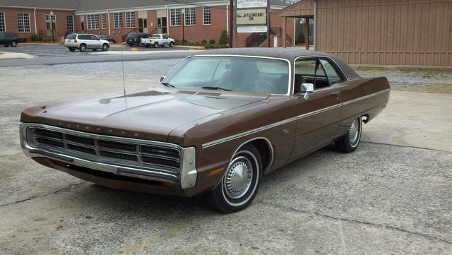 1971 Plymouth Fury, This is the front of my Plymounth. It has hide away headlight's. and wiper's on the headlight's, exterior, gallery_worthy