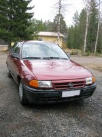 1993 Opel Astra Overview