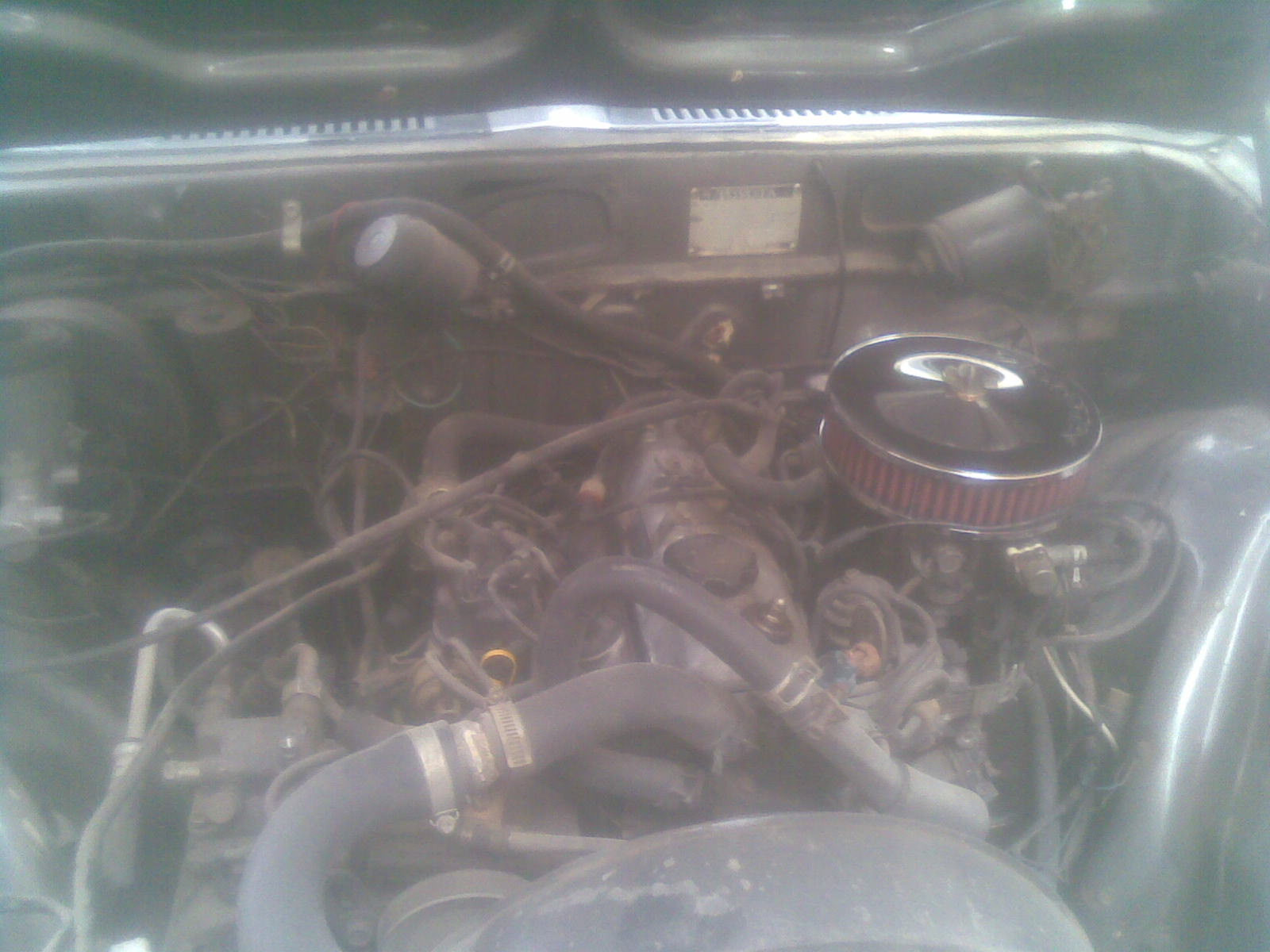 1976 Toyota Corona picture, engine