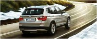 2012 BMW X3 xDrive28i, Rear quarter, exterior, manufacturer