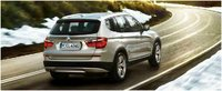 2012 BMW X3 xDrive28i, Rear quarter, manufacturer, exterior