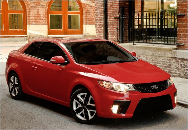 2012 Kia Forte LX, Front Quarter, exterior, manufacturer, gallery_worthy