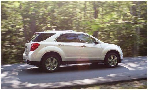 2012 Chevrolet Equinox, Side View, exterior, manufacturer