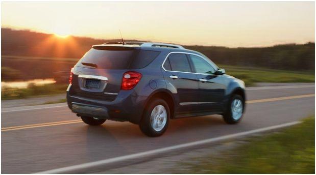 2012 Chevrolet Equinox, Rear Quarter, exterior, manufacturer