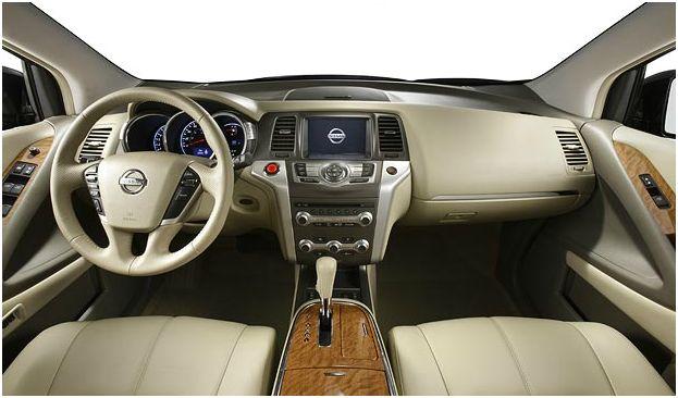 2012 Nissan Murano, Interior Cockpit, interior, manufacturer