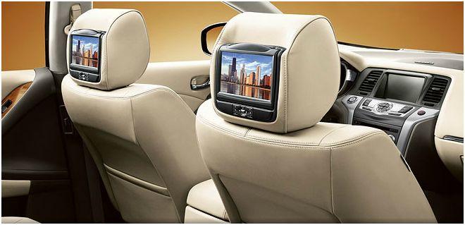 2012 Nissan Murano, Interior, interior, manufacturer