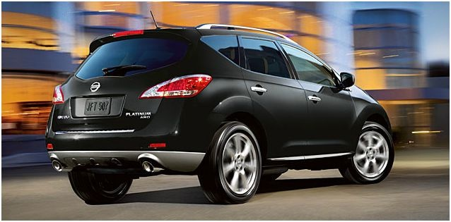 2012 Nissan Murano, Rear Quarter, exterior, manufacturer, gallery_worthy
