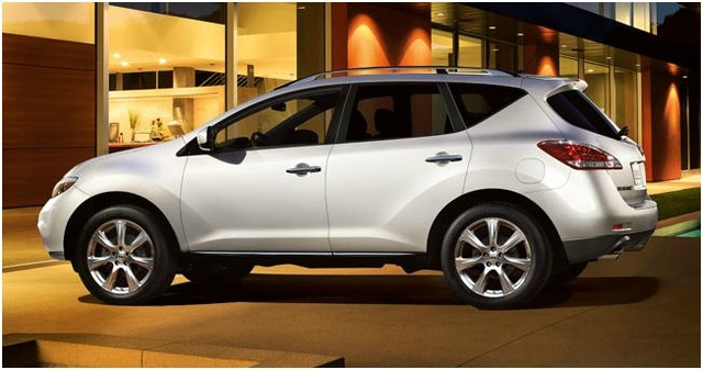 2012 Nissan Murano, Side View, exterior, manufacturer
