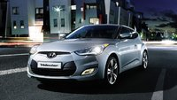 2012 Hyundai Veloster Base, Front Quarter, exterior, manufacturer, gallery_worthy