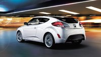 2012 Hyundai Veloster Base, Rear Quarter, exterior, manufacturer, gallery_worthy