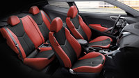 2012 Hyundai Veloster Base, Interior Seating, interior, manufacturer