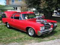1974 Pontiac GTO, on of two cars , exterior