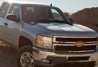 2012 Chevrolet Silverado 2500HD, Front View. , exterior, manufacturer