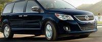 2012 Volkswagen Routan, Front quarter view. , exterior, manufacturer
