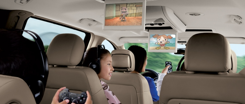 2012 Volkswagen Routan, Back Seat View., exterior, interior, manufacturer