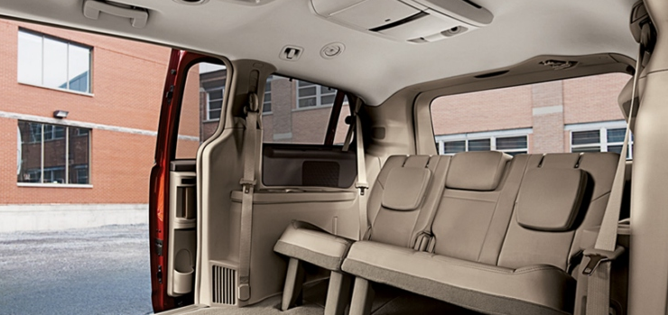 2012 Volkswagen Routan, Back Seat. , exterior, interior, manufacturer