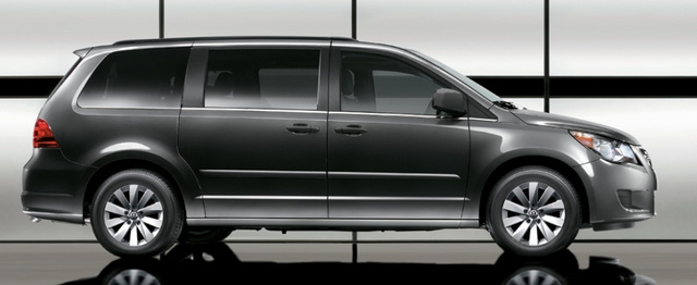 2012 Volkswagen Routan, Side View. , exterior, manufacturer