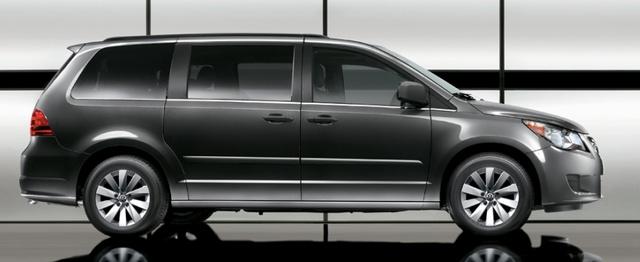 2012 Volkswagen Routan, Side View. , exterior, manufacturer, gallery_worthy