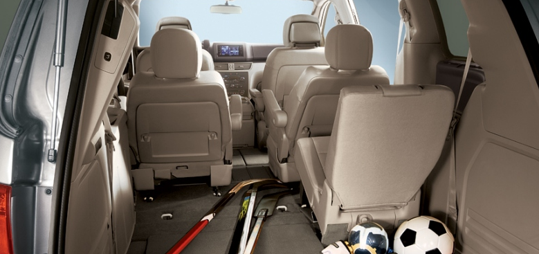 2012 Volkswagen Routan, Fold Down Seats. , interior, manufacturer