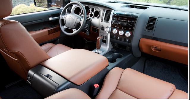 2012 Toyota Tundra, Front Seat., interior, manufacturer