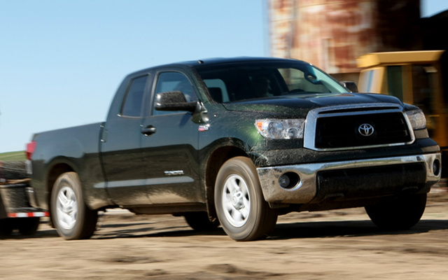2012 Toyota Tundra, Front View., exterior, manufacturer