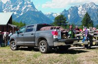 2012 Toyota Tundra, Back quarter view. , exterior, manufacturer, gallery_worthy