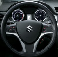 2012 Suzuki Kizashi, Steering wheel. , interior, manufacturer