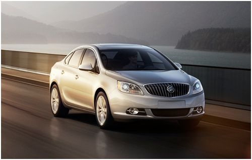 2012 Buick Verano, Front quarter, exterior, manufacturer, gallery_worthy