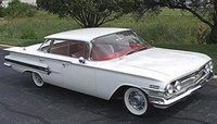 1960 Chevrolet Impala, Before I restored & repainted, exterior