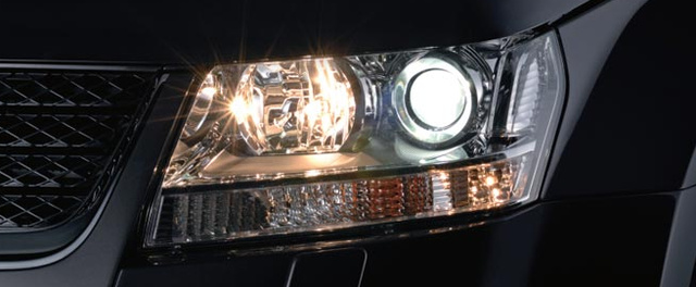 2012 Suzuki Grand Vitara, Head light, exterior, manufacturer