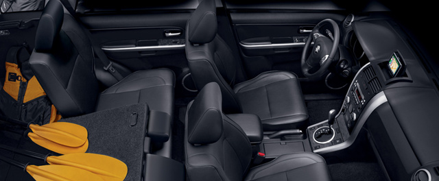2012 Suzuki Grand Vitara, Front and Back Seats. , exterior, interior, manufacturer