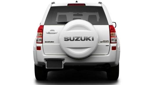 2012 Suzuki Grand Vitara, Back View. , exterior, manufacturer