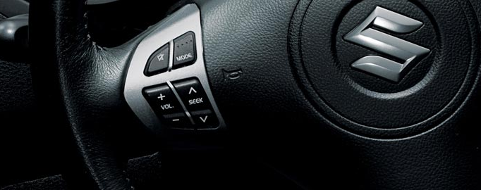 2012 Suzuki Grand Vitara, Steering Wheel Controls. , interior, manufacturer