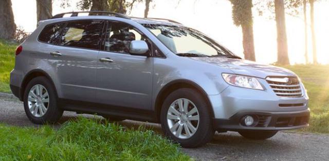 2012 Subaru Tribeca, Front quarter view. , exterior, manufacturer