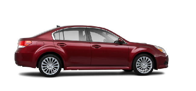 2012 Subaru Legacy, Side View. , exterior, manufacturer
